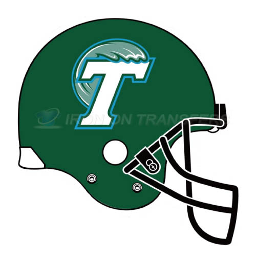 Tulane Green Wave Logo T-shirts Iron On Transfers N6613