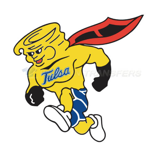 Tulsa Golden Hurricane Logo T-shirts Iron On Transfers N6617