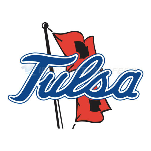Tulsa golden hurricane logo t shirts iron on transfers n6625