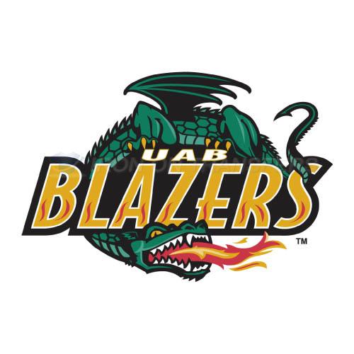 Uab Blazers Logo T Shirts Iron On Transfers N6632