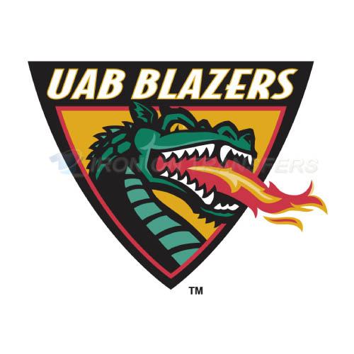UAB Blazers Logo T-shirts Iron On Transfers N6629