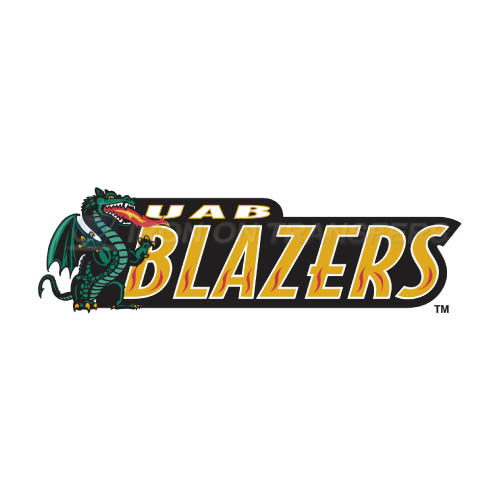 UAB Blazers Logo T-shirts Iron On Transfers N6631
