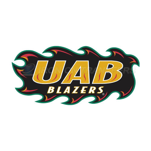 UAB Blazers Logo T-shirts Iron On Transfers N6632