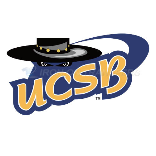 UCSB Gauchos Logo T-shirts Iron On Transfers N6677