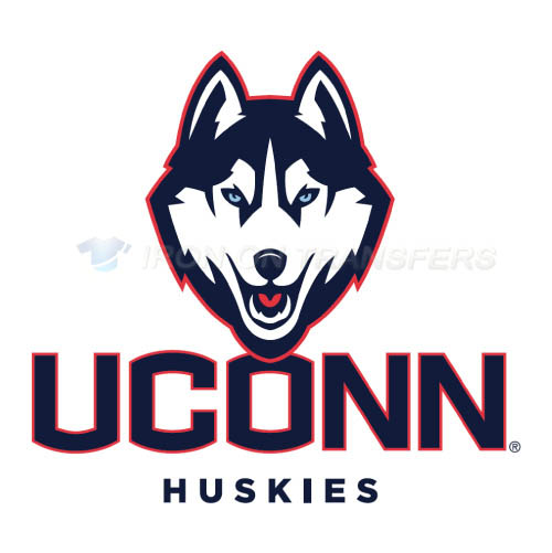 UConn Huskies Logo T-shirts Iron On Transfers N6653