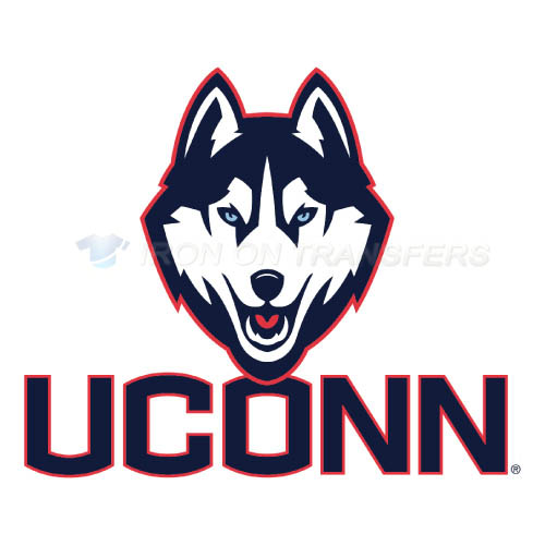 UConn Huskies Logo T-shirts Iron On Transfers N6655