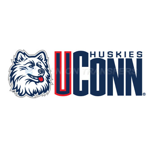 UConn Huskies Logo T-shirts Iron On Transfers N6657