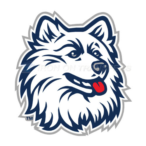 UConn Huskies Logo T-shirts Iron On Transfers N6658