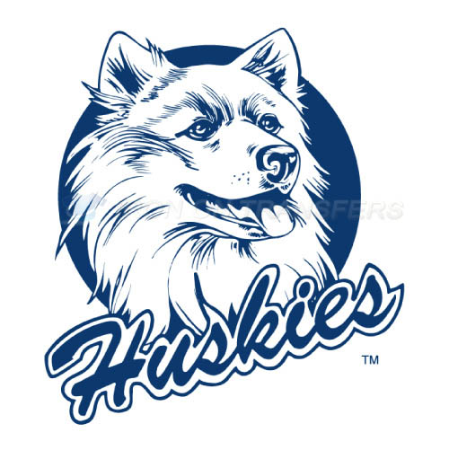UConn Huskies Logo T-shirts Iron On Transfers N6659