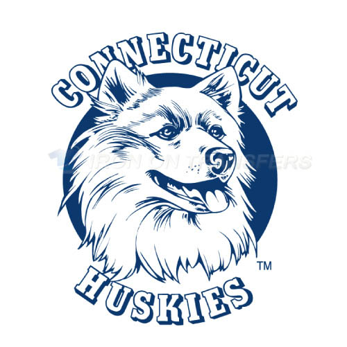 UConn Huskies Logo T-shirts Iron On Transfers N6664