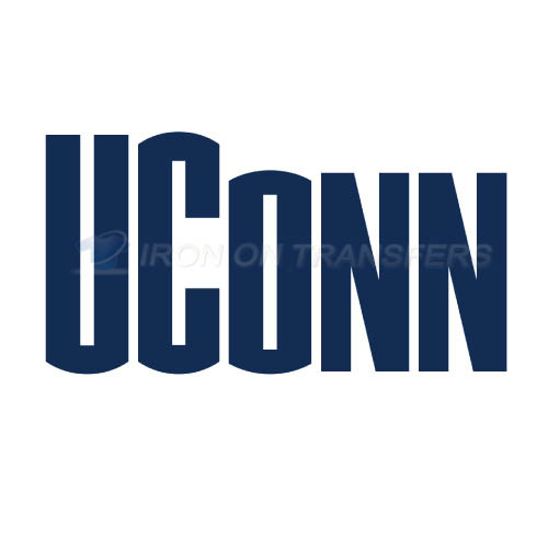 UConn Huskies Logo T-shirts Iron On Transfers N6665