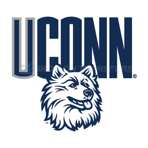 UConn Huskies Logo T-shirts Iron On Transfers N6666