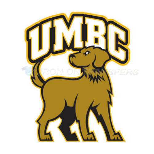UMBC Retrievers Logo T-shirts Iron On Transfers N6686