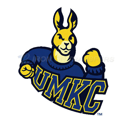 UMKC Kangaroos Logo T-shirts Iron On Transfers N6698
