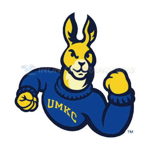 UMKC Kangaroos Logo T-shirts Iron On Transfers N6699