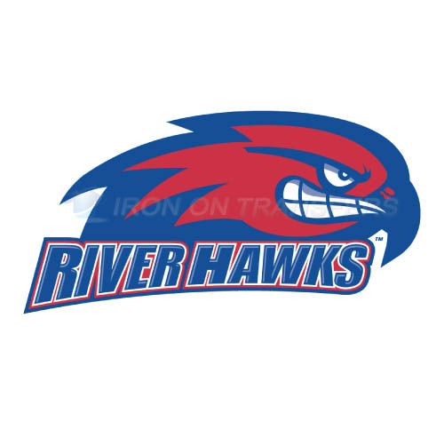 UMass Lowell River Hawks Logo T-shirts Iron On Transfers N6679