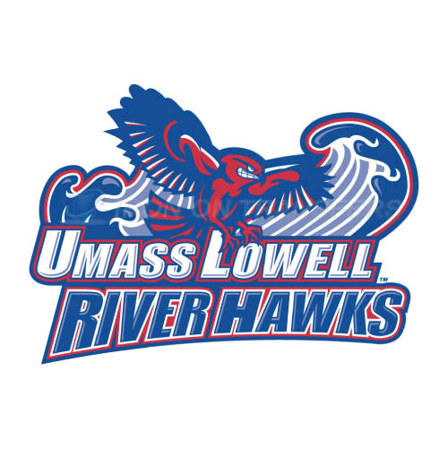 UMass Lowell River Hawks Logo T-shirts Iron On Transfers N6680