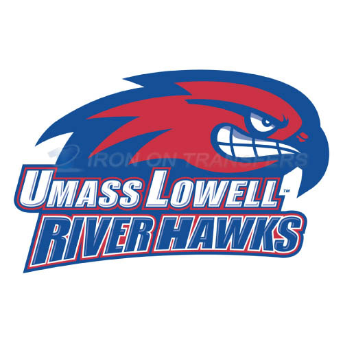 UMass Lowell River Hawks Logo T-shirts Iron On Transfers N6683