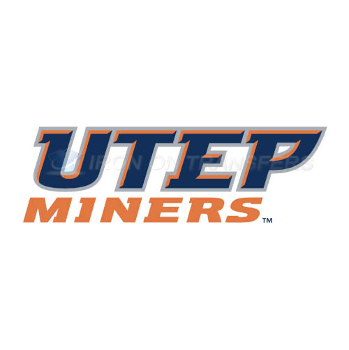 UTEP Miners Logo T-shirts Iron On Transfers N6768