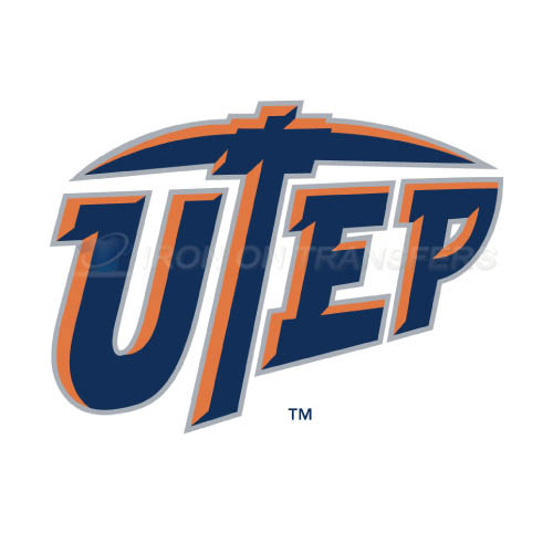 UTEP Miners Logo T-shirts Iron On Transfers N6769