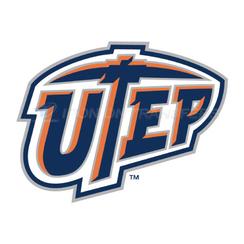 UTEP Miners Logo T-shirts Iron On Transfers N6779