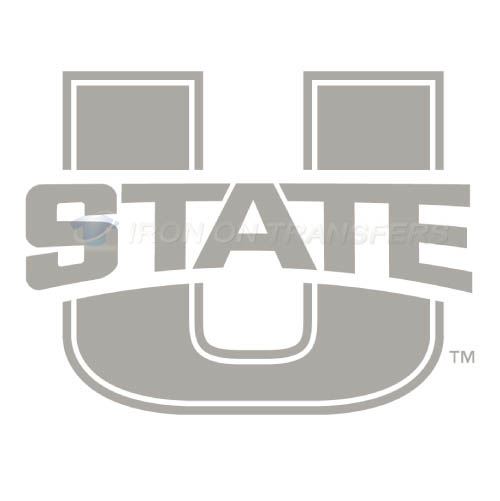Utah State Aggies Logo T-shirts Iron On Transfers N6735