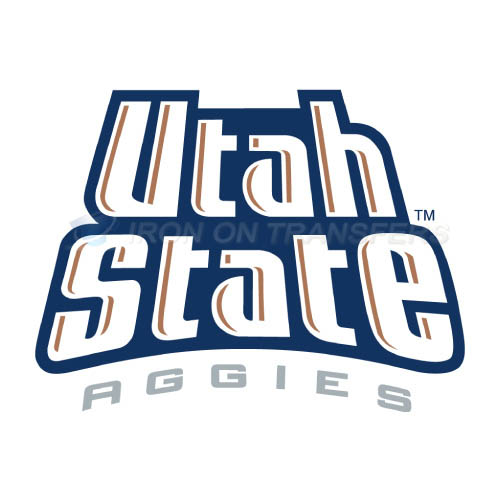 Utah State Aggies Logo T-shirts Iron On Transfers N6745