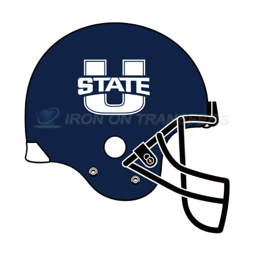 Utah State Aggies Logo T-shirts Iron On Transfers N6750