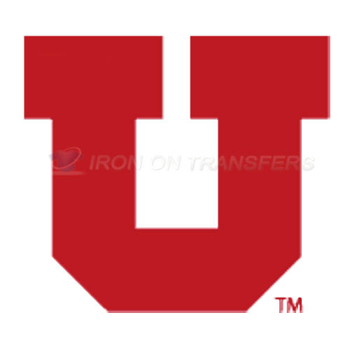 Utah Utes Logo T-shirts Iron On Transfers N6751