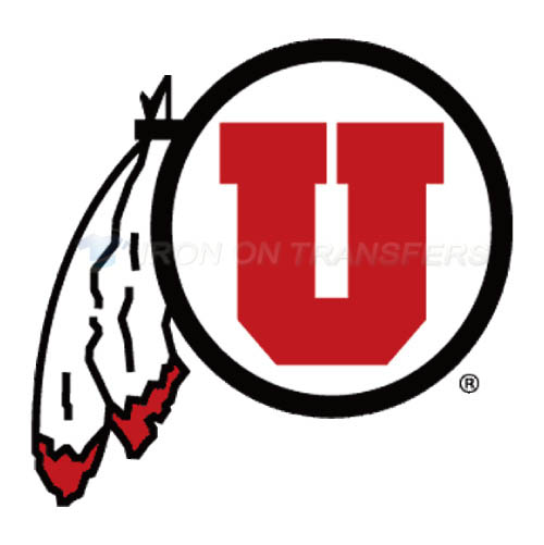 Utah Utes Logo T-shirts Iron On Transfers N6752