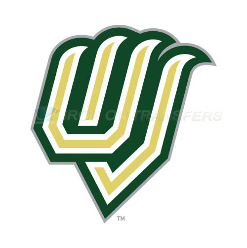 Utah Valley Wolverines Logo T-shirts Iron On Transfers N6756