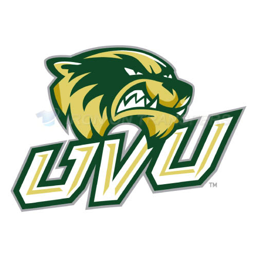 Utah Valley Wolverines Logo T-shirts Iron On Transfers N6757