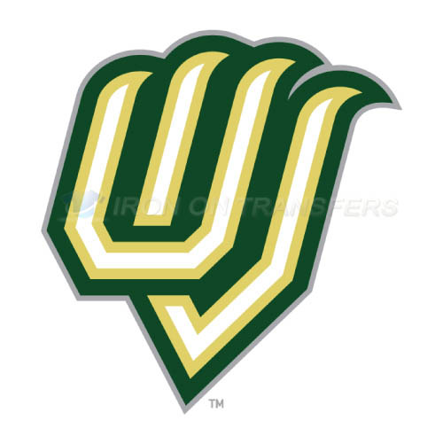 Utah Valley Wolverines Logo T-shirts Iron On Transfers N6759