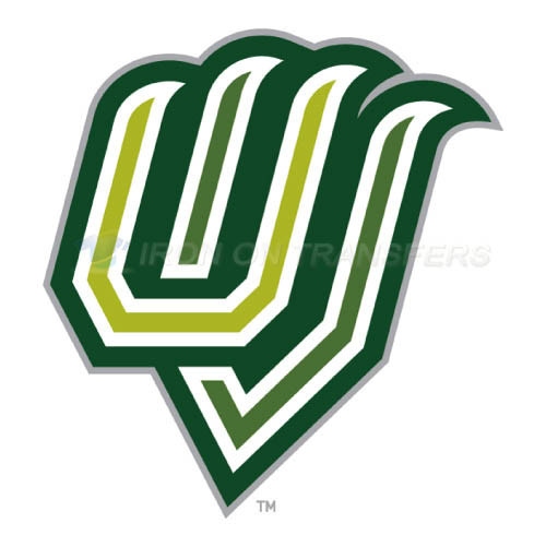 Utah Valley Wolverines Logo T-shirts Iron On Transfers N6761