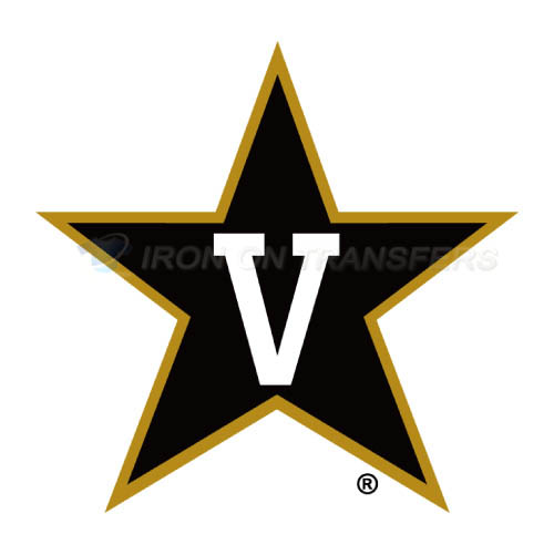 Vanderbilt Commodores Logo T-shirts Iron On Transfers N6793