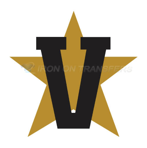 Vanderbilt Commodores Logo T-shirts Iron On Transfers N6795