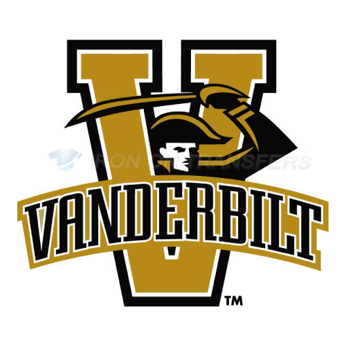 Vanderbilt Commodores Logo T-shirts Iron On Transfers N6796