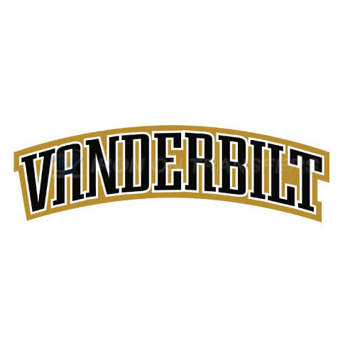 Vanderbilt Commodores Logo T-shirts Iron On Transfers N6799