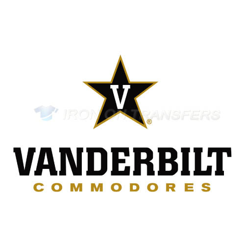 Vanderbilt Commodores Logo T-shirts Iron On Transfers N6801