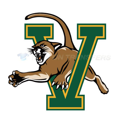 Vermont Catamounts Logo T-shirts Iron On Transfers N6804