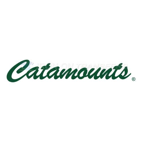Vermont Catamounts Logo T-shirts Iron On Transfers N6807