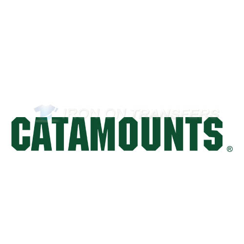 Vermont Catamounts Logo T-shirts Iron On Transfers N6808