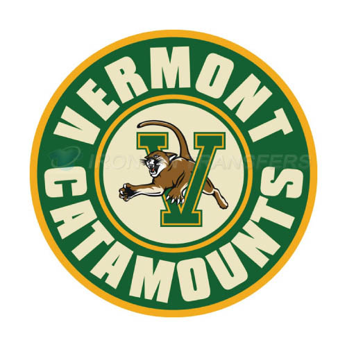 Vermont Catamounts Logo T-shirts Iron On Transfers N6809
