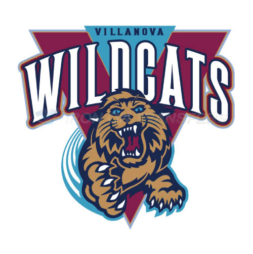 Villanova Wildcats Logo T-shirts Iron On Transfers N6813