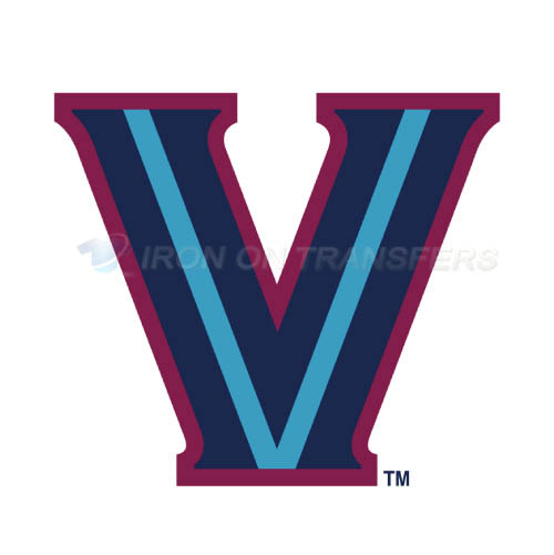 Villanova Wildcats Logo T-shirts Iron On Transfers N6814
