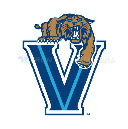 Villanova Wildcats Logo T-shirts Iron On Transfers N6818