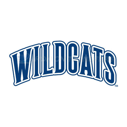 Villanova Wildcats Logo T-shirts Iron On Transfers N6819