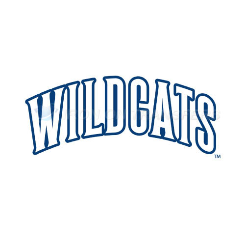 Villanova Wildcats Logo T-shirts Iron On Transfers N6821