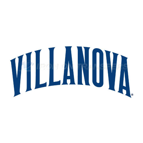 Villanova Wildcats Logo T-shirts Iron On Transfers N6823