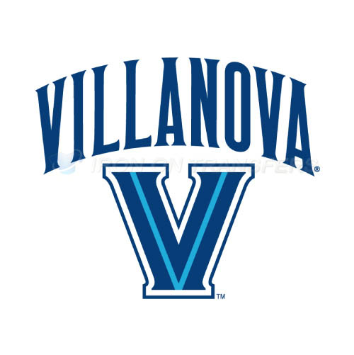Villanova Wildcats Logo T-shirts Iron On Transfers N6824